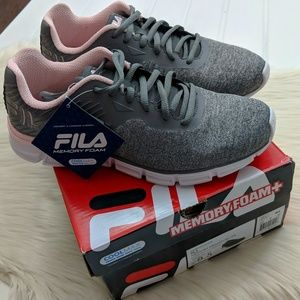 FILA Memory Foam Primeforcer Running Sneakers NWT